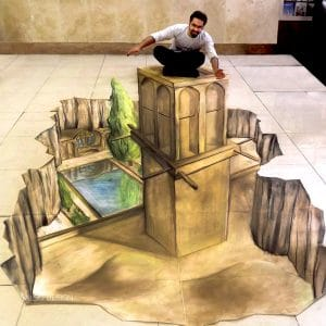 3d street art 3d sticker 3d painting 3d pavemant art